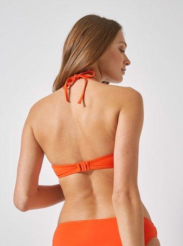 Oranžový horní díl plavek Dorothy Perkins