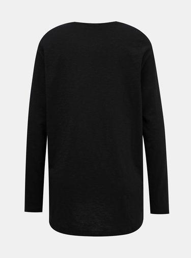 Čierne basic tričko Noisy May Mika