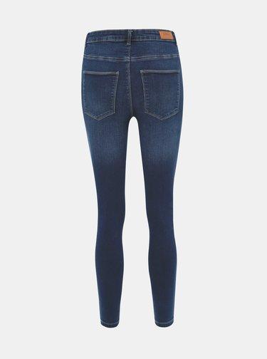 Tmavě modré zkrácené skinny fit džíny ONLY Gosh