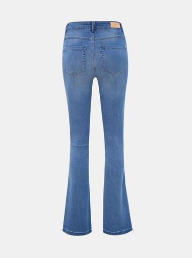 Modré flared fit džíny ONLY Royal