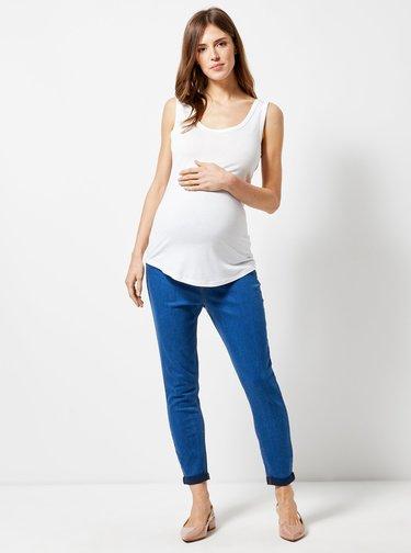 Modré těhotenské džíny Dorothy Perkins Maternity Harper