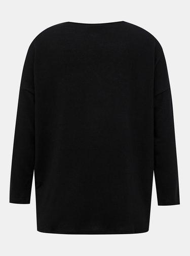 Černý svetr s krajkou Jacqueline de Yong Choice