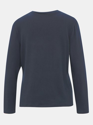Tmavomodrý basic sveter Jacqueline de Yong Choice
