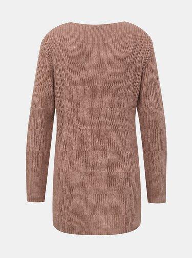Starorůžový svetr Jacqueline de Yong Dusty