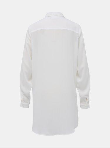 Biela dlhá košeľa VILA Lucy