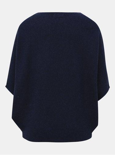Tmavě modrý svetr s netopýřími rukávy Jacqueline de Yong New Behave