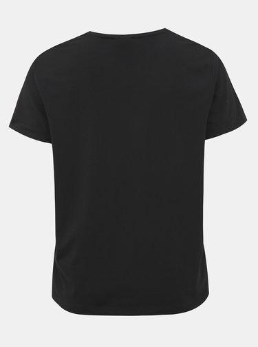 Čierne basic tričko ONLY CARMAKOMA