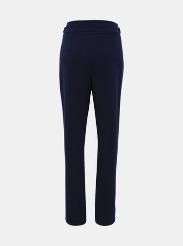 Tmavě modré kostýmové kalhoty Jacqueline de Yong Tanja