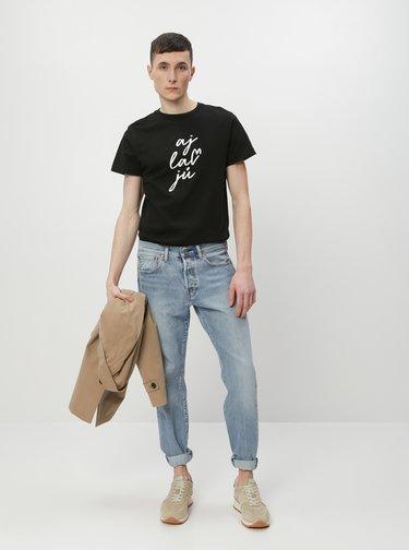 Čierne pánske tričko ZOOT Original aj lav jů