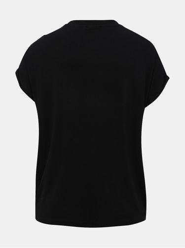 Černé basic tričko Noisy May Nola