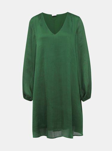 Tmavozelené šaty VILA Wavey