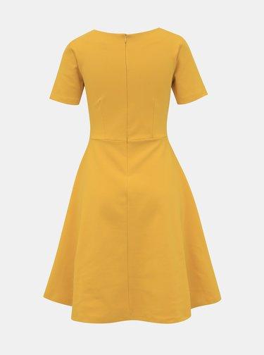Žlté basic šaty ZOOT Julia