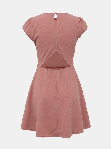 Růžové třpytivé šaty TALLY WEiJL Jan