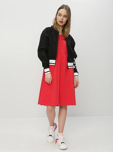 Červené basic šaty ZOOT Peggy
