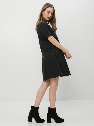 Čierne rifľové košeľové šaty Levi's®