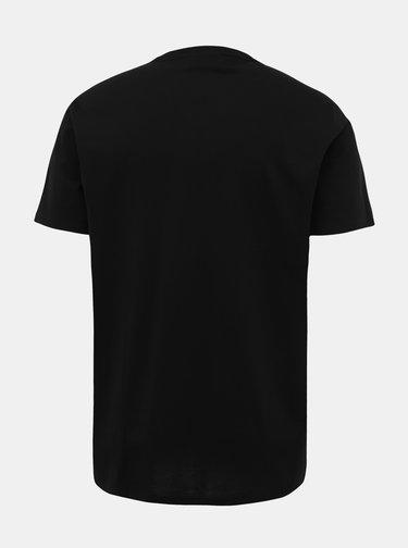 Černé pánské tričko Lacoste