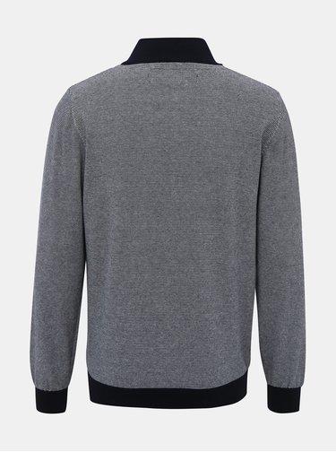 Šedý sveter s výšivkou Raging Bull