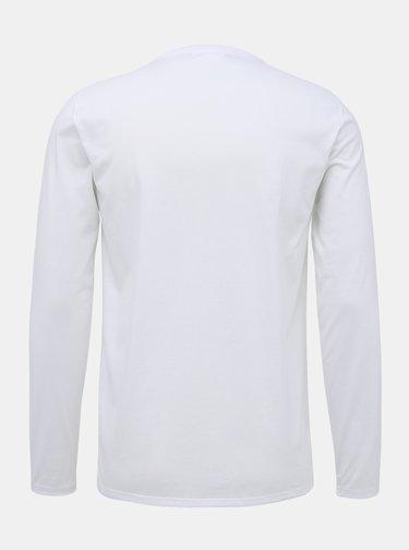 Biele pánske basic tričko Lacoste