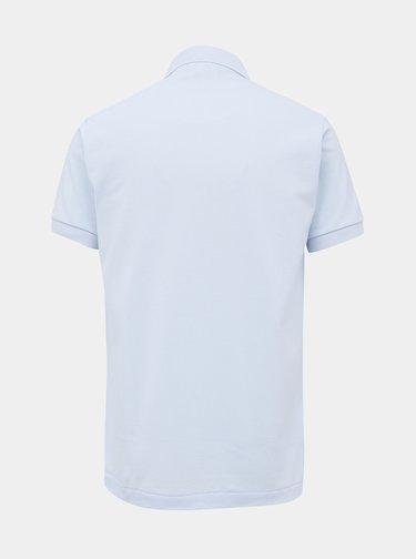 Světle modré pánské basic polo tričko Lacoste