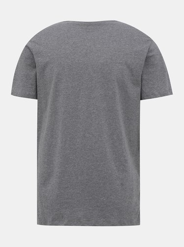Šedo-biele tričko Jack & Jones Emix