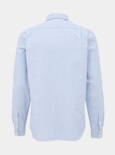 Světle modrá pánská regular fit košile Lacoste