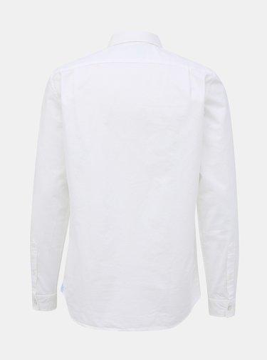 Biela pánska regular fit košeľa Lacoste