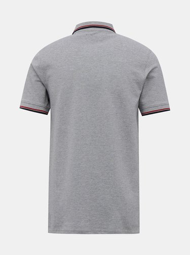 Šedé polo tričko Jack & Jones Noah