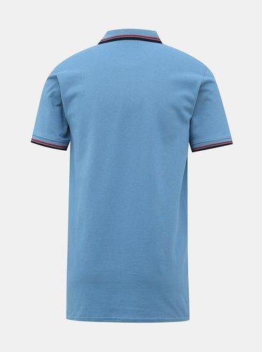 Modré polo tričko Jack & Jones Noah