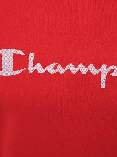 Červená pánska mikina Champion