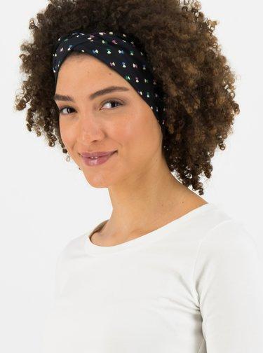 Černá vzorovaná čelenka Blutsgeschwister Disco Flies