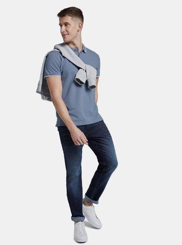 Modré pánské polo tričko Tom Tailor Denim