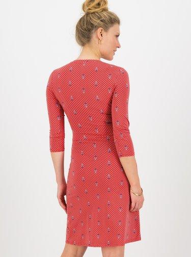 Červené puntíkované šaty Blutsgeschwister Tippi Dots