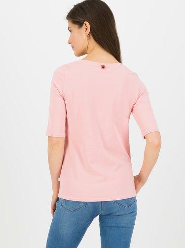 Růžové tričko Blutsgeschwister Legere