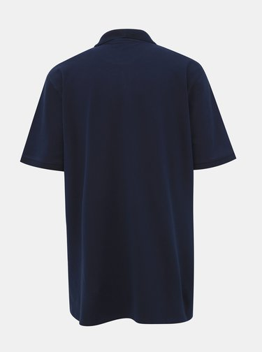 Tmavě modré basic polo tričko Selected Homme Haro