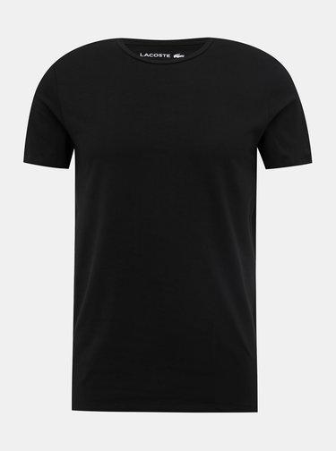 Sada dvou pánských černých basic triček Lacoste