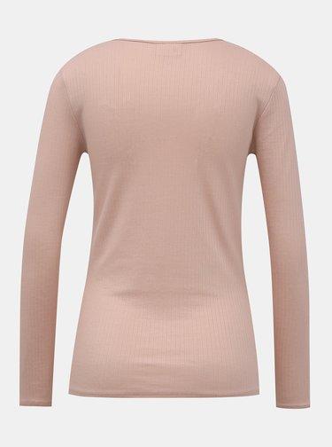 Ružové basic tričko VILA Suloma