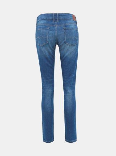 Modré dámské skinny fit džíny Pepe Jeans Soho