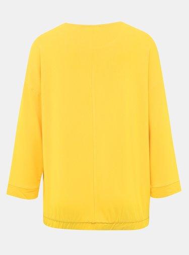Žluté dámské tričko s potiskem Tom Tailor