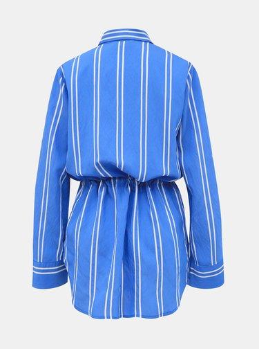 Modrá dámska pruhovaná košeľa Tom Tailor Denim