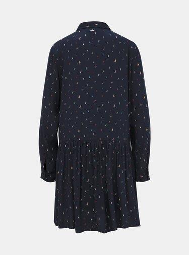 Tmavě modré košilové šaty Tom Tailor Denim