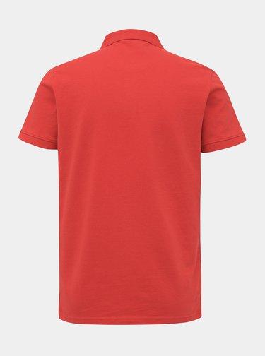 Červená pánska basic polokošeľa Tom Tailor
