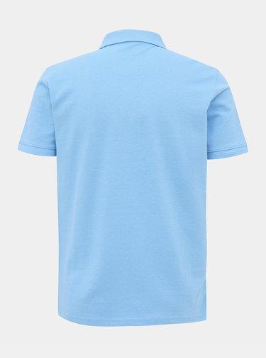 Světle modré pánské basic polo tričko Tom Tailor