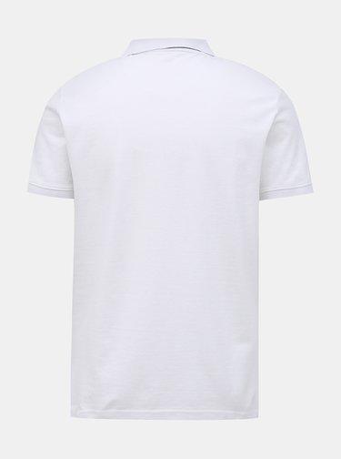 Bílé pánské basic polo tričko Tom Tailor