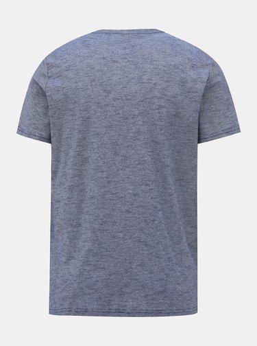 Modro-šedé pánske tričko Tom Tailor