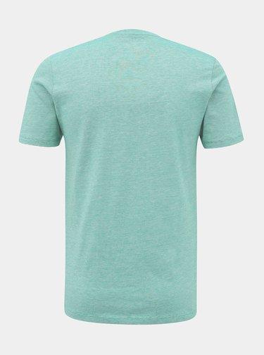 Tyrkysové basic tričko Selected Homme The Perfect
