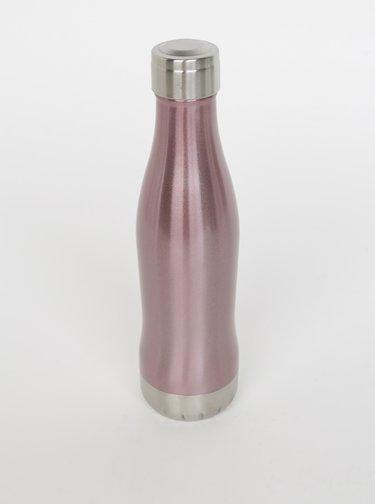 Rúžová fľaša GLACIAL Diamond 400 ml
