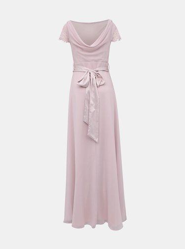 Svetloružové maxi šaty Dorothy Perkins Tall