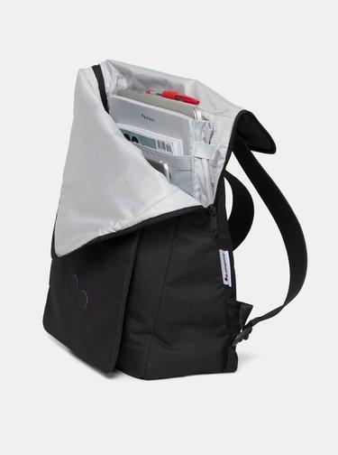 Černý batoh pinqponq Klak 18 l