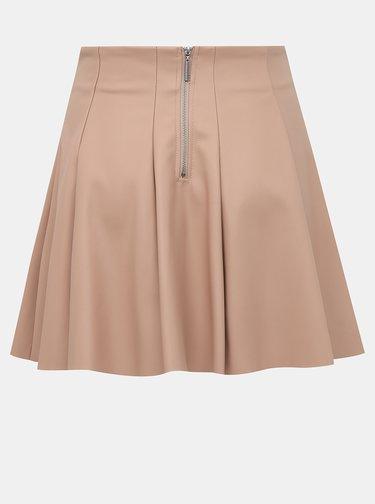 Staroružová koženková sukňa TALLY WEiJL