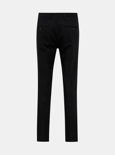 Čierne oblekové slim fit nohavice Jack & Jones VIncent